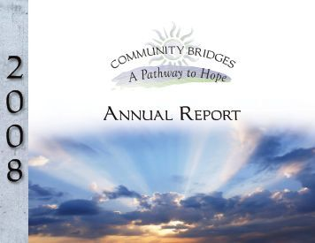 Annual Report 2008:Layout 1.qxd - Community Bridges