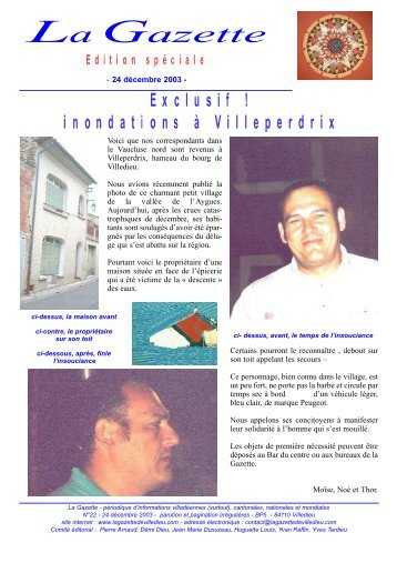 Elle - La Gazette de Villedieu