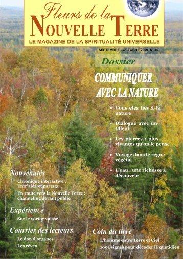 Magazine No 40 - Fleurs de la Nouvelle Terre