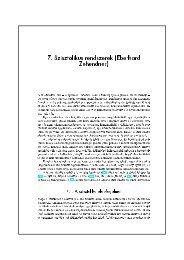 7. Szisztolikus rendszerek (Eberhard Zehendner)