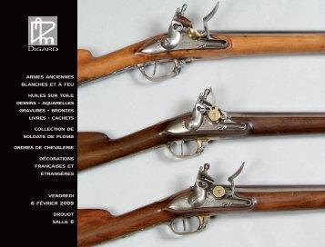 armes anciennes blanches et à feu huiles sur toile dessins