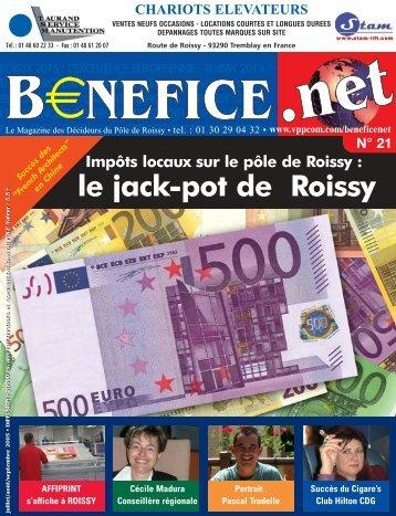 Bénéfice. net bimestriel gratuit édité par VPP SARL - Ce nom de ...