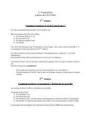 L'évaporation (classe de CE2/CM1) 1 séance. 2 séance.