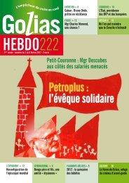 Petroplus : l'évêque solidaire
