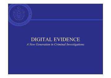 Digital Evidence - SANS Computer Forensics