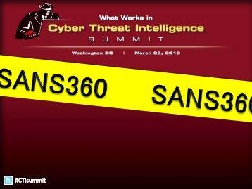 SANS 360