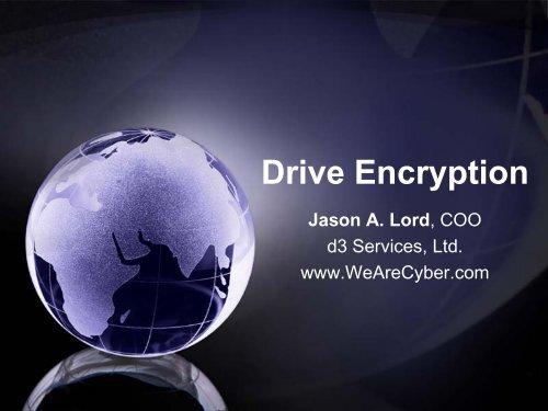 Drive Encryption - SANS Computer Forensics
