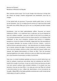 Texte intégral (traduction française) - Gouvernement du Grand ...