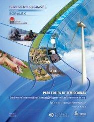 parc éolien de témiscouata - BAPE - Gouvernement du Québec