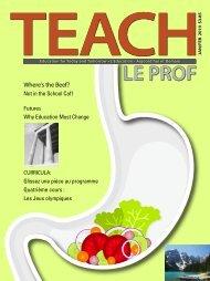 Where's the Beef? - TEACH Magazine