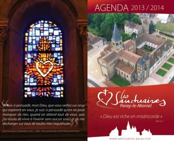 AGENDA - Sanctuaires de Paray-le-Monial