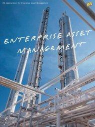 IFS Applications™ for Enterprise Asset Management - PMCG