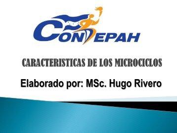 CARACTERISTICAS DE LOS MICROCICLOS[1].pdf - Condepah