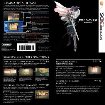 COMMANdES dE bASE - Nintendo