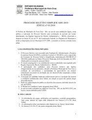 PROCESSO SELETIVO SIMPLIFICADO 2010 EDITAL nº 01 ... - Fapes