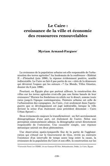 Dissertation faut il limiter la croissance economique