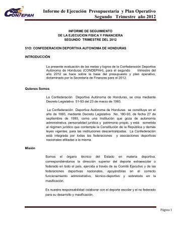 Informe Segundo trimestre 2012.pdf - Condepah