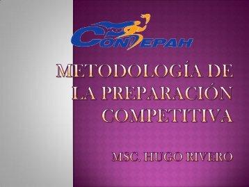 Metodología de la Preparación Competitiva.pptx 6to ... - Condepah