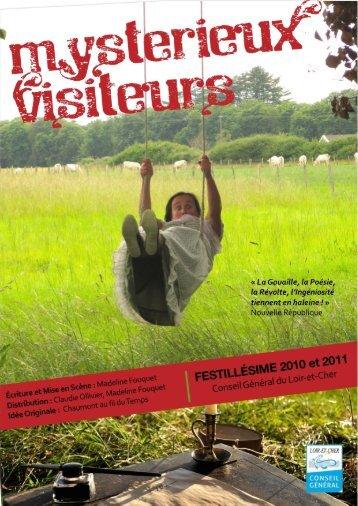 Plaquette de Mysterieux Visiteurs - Madeline Fouquet
