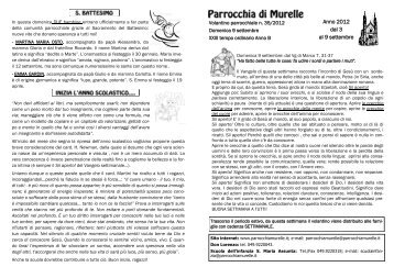 VOLANTINO n. 35-2012.pdf - Parrocchia S. Maria Assunta MURELLE