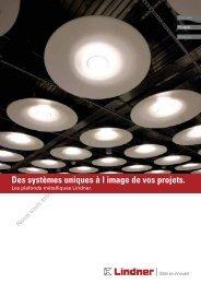 Des systèmes uniques à l'image de vos projets. - Lindner Group