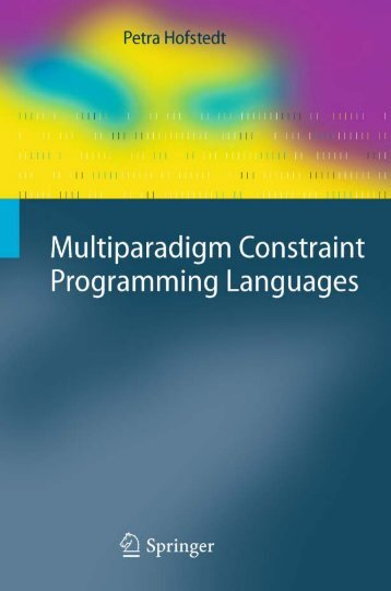 Multiparadigm Constraint Programming Languages (Cognitive ...