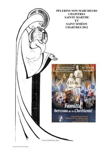 30 26-27-28 mai 2012 Famille, Berceau de Chrétienté