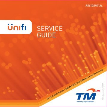 Residential Service Guide - UniFi