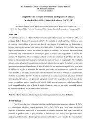 Diagnóstico da Criação de Búfalos na Região da ... - Campus Bambuí