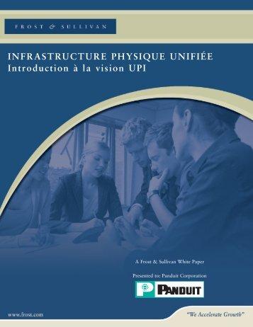Approche unifiée de l'infrastructure physique de Panduit