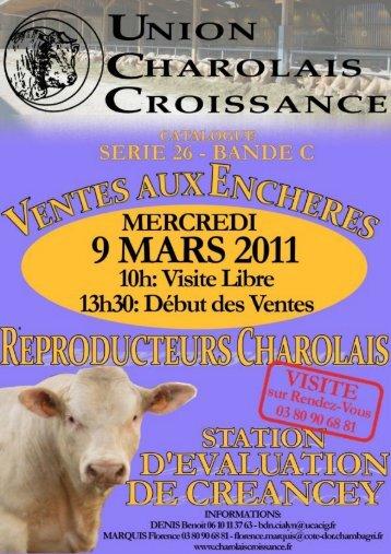 Catalogue 2010-2011 - Union Charolais Croissance