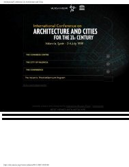 International Conference on Architecture and Cities
