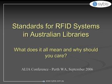 View presentation - ALIA conferences