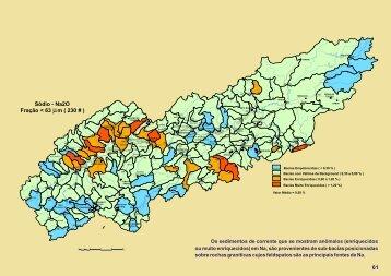 Mapas Geoquímicos, Overbank e Bibliografia - CPRM