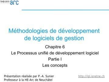 Le Processus unifié - Les concepts