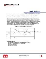 Controlling Photopolymer Plate Gauge - MacDermid Printing