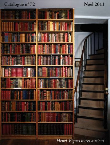 Catalogue 72 - Librairie Henri Vignes
