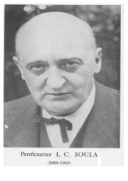 Professeur Louis Camille Soula - CHU Toulouse