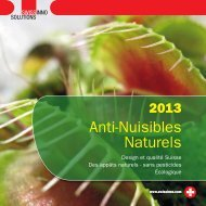 Anti-Nuisibles Naturels - SWISSINNO SOLUTIONS