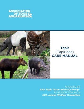 Tapir - Association of Zoos and Aquariums
