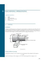 ME 364 Manufacturing Technology Lecture Notes - Department of ...
