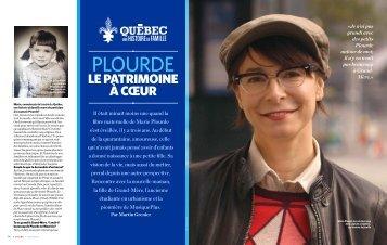 PLOURDE - Le Québec, une histoire de famille