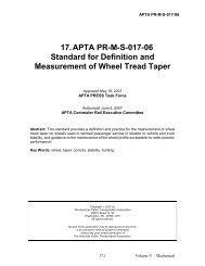 APTA PR-MS-017-06 - American Public Transportation Association