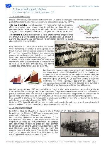 exposition Histoire du chalutage - Musée Maritime La Rochelle