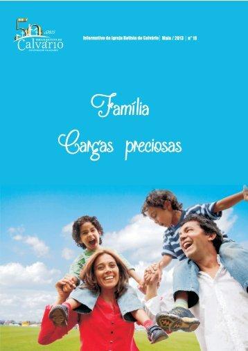 Família Cargas preciosas - Igreja Batista do Calvario
