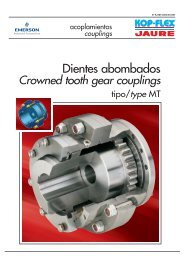 Dientes abombados - Emerson Industrial Automation