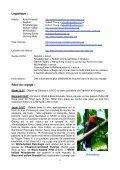 Itinéraire quotidien très détaillé, souvent en dehors des sites ... - LPO - Page 2