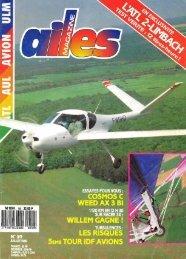 AX3 AILES MAG N° 59 juillet 89