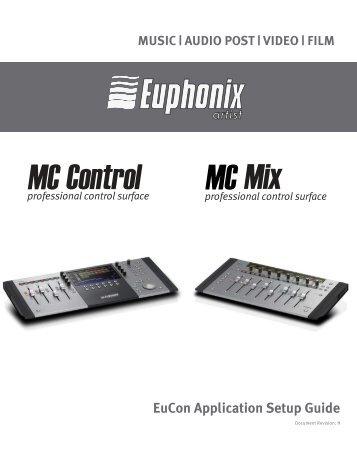 Eucon mc Mix Manual
