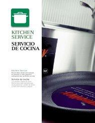 KITCHEN SERVICE SERVICIO DE COCINA - Cristaleria Manolo